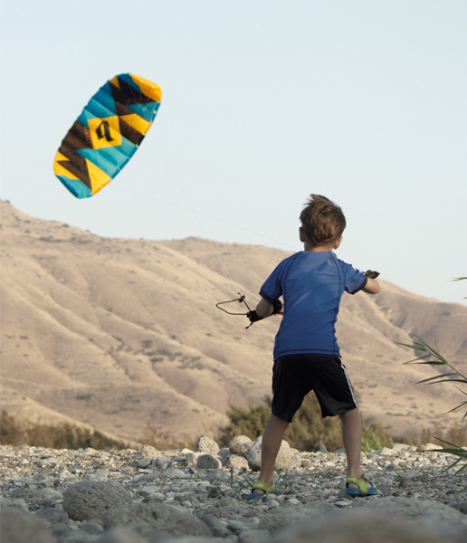 new guy trainer kite Blade kiteboarding
