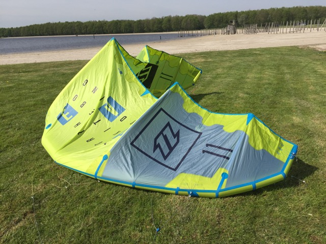 North Evo 2016 kitesurf kite