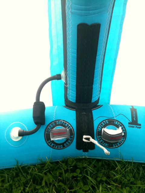 inflate and one pump stystem fone 2012